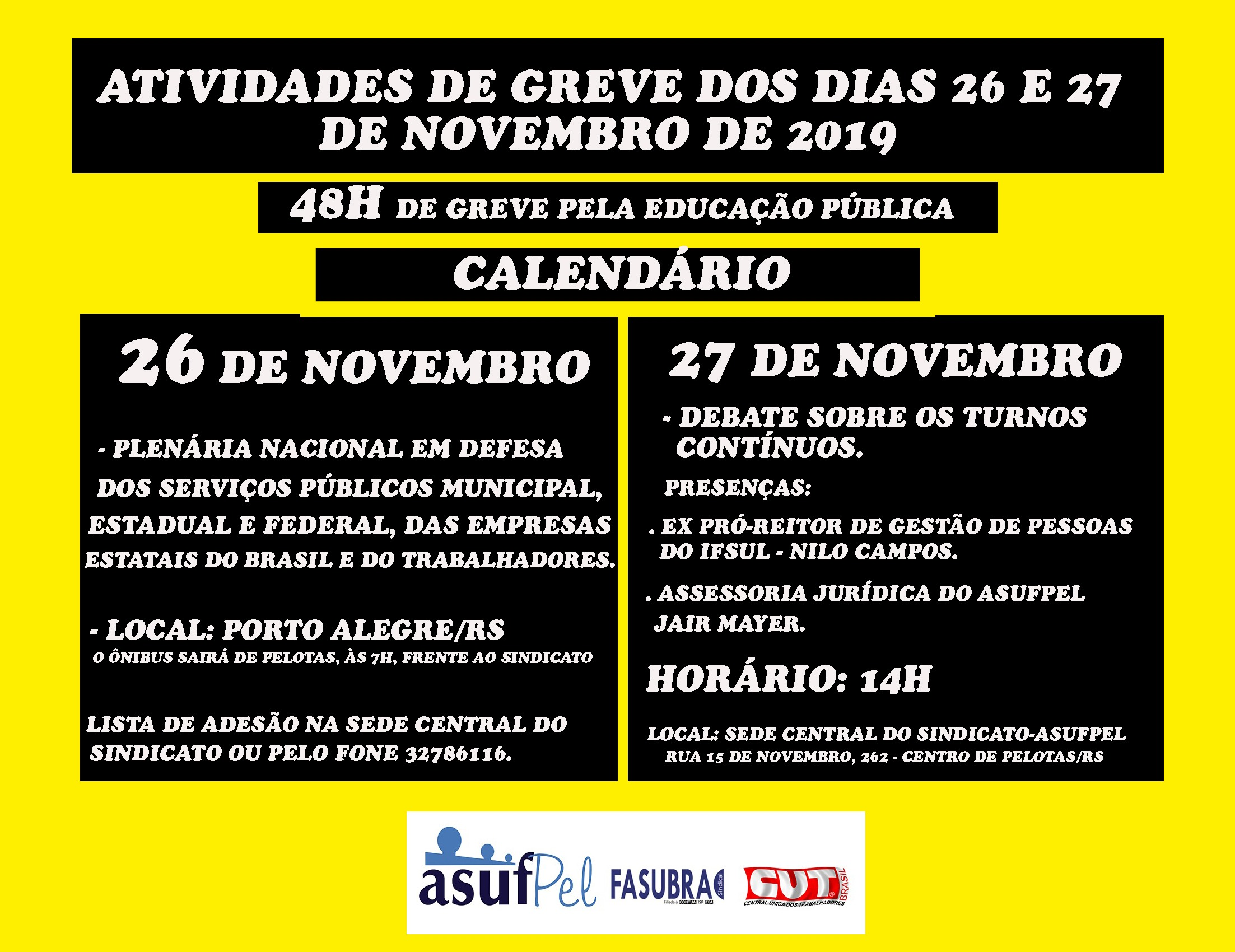 ATIVIDADE DE GREVE